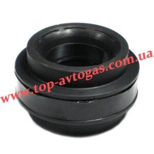 Антихлопковый клапан, d70, гофра-гофра, пластик, Rybacki (400-501)