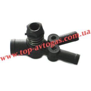 Дозатор газа d19х12х12, с 1-м рег.винтом, пластиковый, Rybacki