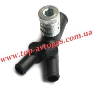 Дозатор газа d19х12х12, с 1-м рег.винтом, пластиковый, усиленный, OML