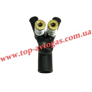 Дозатор газа d19х12х12, с 2-мя рег.винтами, пластиковый, усиленный, ОML