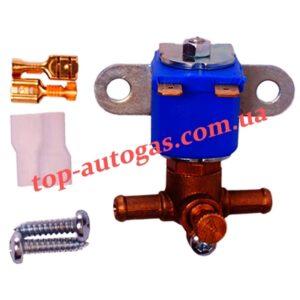 Электроклапан бензина Mimgas, в металле (малый)