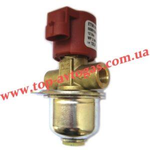 Электроклапан газа пропан BRC ЕТ-98 под трубку d8, с евроразъемом