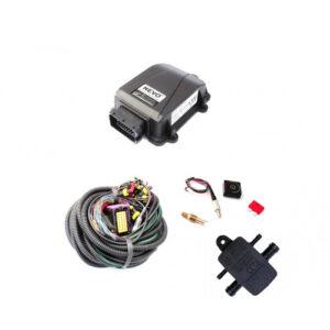 Электроника 4ц. KME NEVO (блок, жгут проводов, переключатель, датч. t редуктора, мап-сенсор)