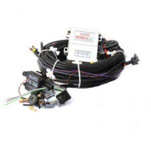 Электроника 4ц. STAG-4 plus (разъем тип Valtek,(переключатель газ+бензин,МАР-сенсор PS-02, датчик температуры редуктора,без сенсор уровня газа)
