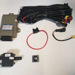Электроника 4ц. Tamona STYX (блок, жгут проводов, датч. давления, переключатель, датч. t редуктора.
