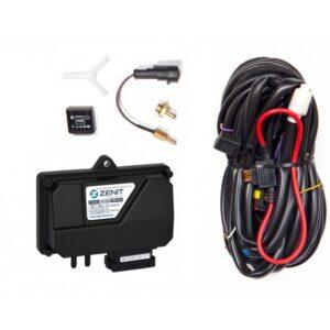 Электроника 4ц. Zenit Compact (блок, жгут проводов, переключатель, датч. t редуктора)