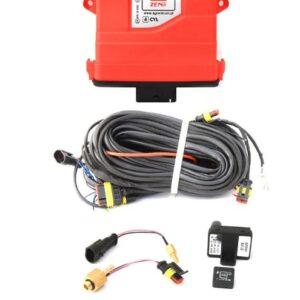 Электроника 4ц. Zenit PRO OBD (блок, жгут проводов, датч. давления, переключатель, датч. t редуктора, датч. t газа)