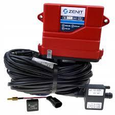 Электроника 6ц. Zenit PRO OBD (блок, жгут проводов, датч. давления, переключатель.