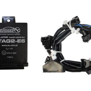 Эмулятор отключения форсунок 6ц. STAG-2/Е6, разъемы bosch