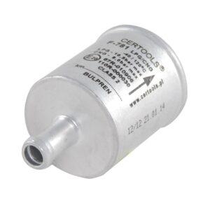 Фильтр тонкой очистки газа S.M.F. - 11/11, однораз., алюм.(бульпрен)