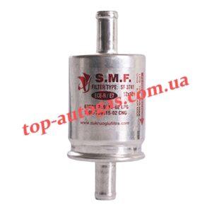 Фильтр тонкой очистки газа S.M.F. - 16/16, однораз., алюм.