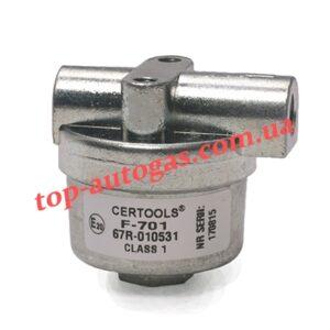Фильтр жидкой фазы газа Certools d6/6, F701, с бумажным сменным фильтром, пропан