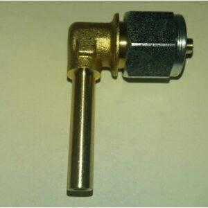 Фитинги для крепления термопластиковой трубки d-6, L-90 (облегченный) Gomet (пропан)