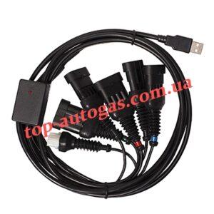 Кабель-интерфейс USB на 6 разъемов (универсальный), №11