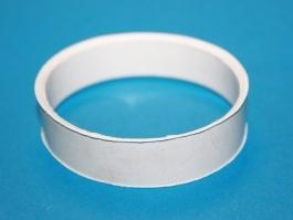Кольцо резиновое к смесителю-антихлопку d-60,(Белое селикон)