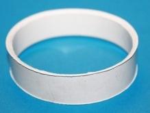 Кольцо резиновое к смесителю-антихлопку d-70,(Белое селикон)