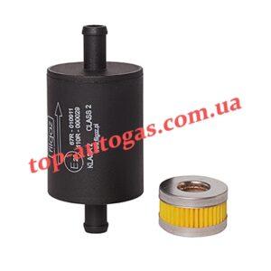 Комплект фильтров Filgaz - 12/12, однораз., пластик. + фильтр редуктора Tomasetto, пропан