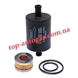 Комплект фильтров Filgaz - 12/12, однораз., пластик. + фильтр редуктора Tomasetto с резин. кольцами, пропан