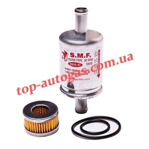 Комплект фильтров S.F.M. - 12/12, однораз., алюм. + фильтр редуктора Tomasetto с резин. кольцами, пропан