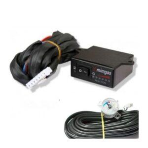 Комплект - переключатель инжектор MiMgas (газ-бензин), с индикацией уровня топлива + сенсор уровня газа MIMgas