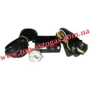 Комплект - переключатель карбюратор MIMgas (газ-бензин) + сенсор уровня MIMgas