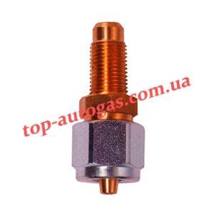 Переходник с трубки терм. d6/М10х1 на мультиклапан, редуктор, прямой (пропан)