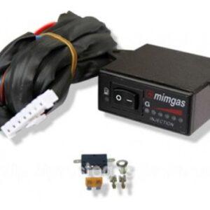 Переключатель инжектор MIMgas (газ-бензин), с индикацией уровня топлива