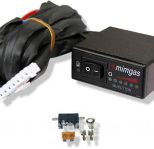 Переключатель карбюратор MIMgas (газ-бензин), с индикацией уровня топлива
