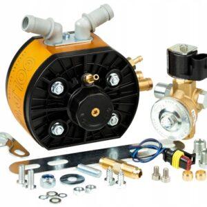 Редуктор впрыск пропан KME Diego Gold GT, Мощность - 250kW/330л.с. К/Г Valtek, вход d-8.