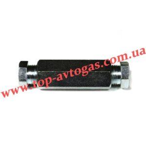 Соединитель трубки медь d8х8 (пропан)
