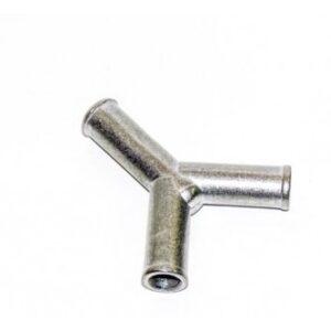 Тройник соединительный Y-образный D-11х11х11(алюмин)Gomet.