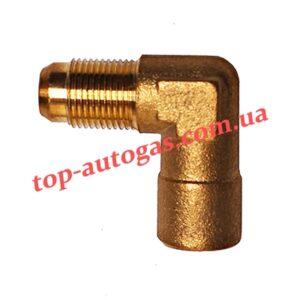 Уголок для мультиклапана d6 M10x1/M10x1 (GZ-262) (пропан)